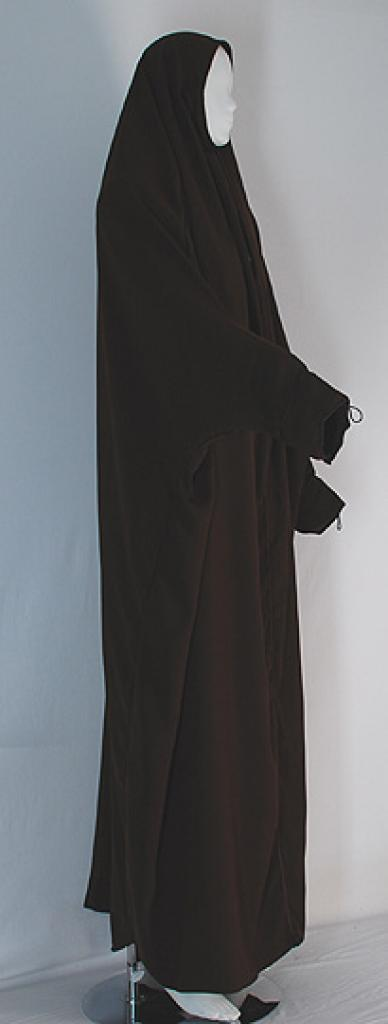 Egyptian Pull-Over Open Abaya ab397