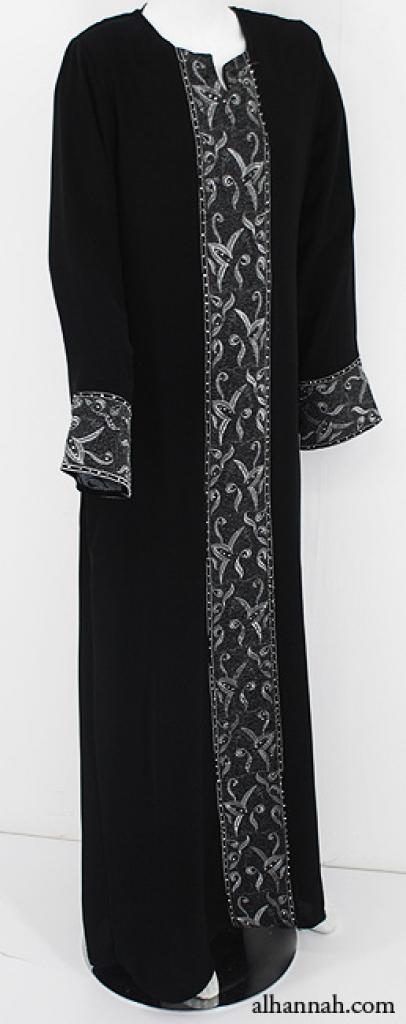 Embroidered Womens Abaya ab573