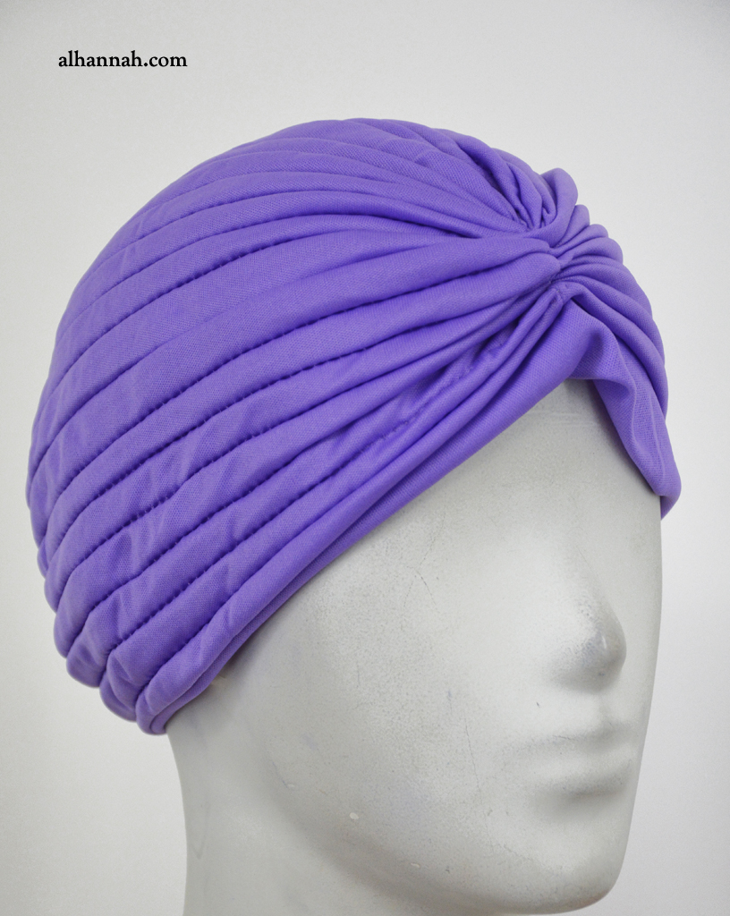 Pleated Turban Style Underscarf ac306