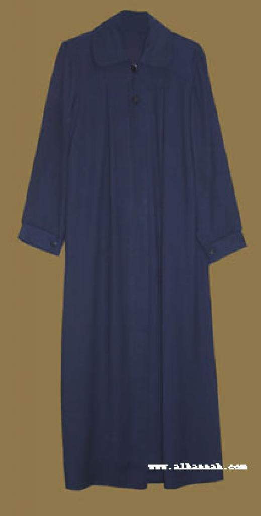 Islamic School Uniform - Classic Pleated Jilbab ch366