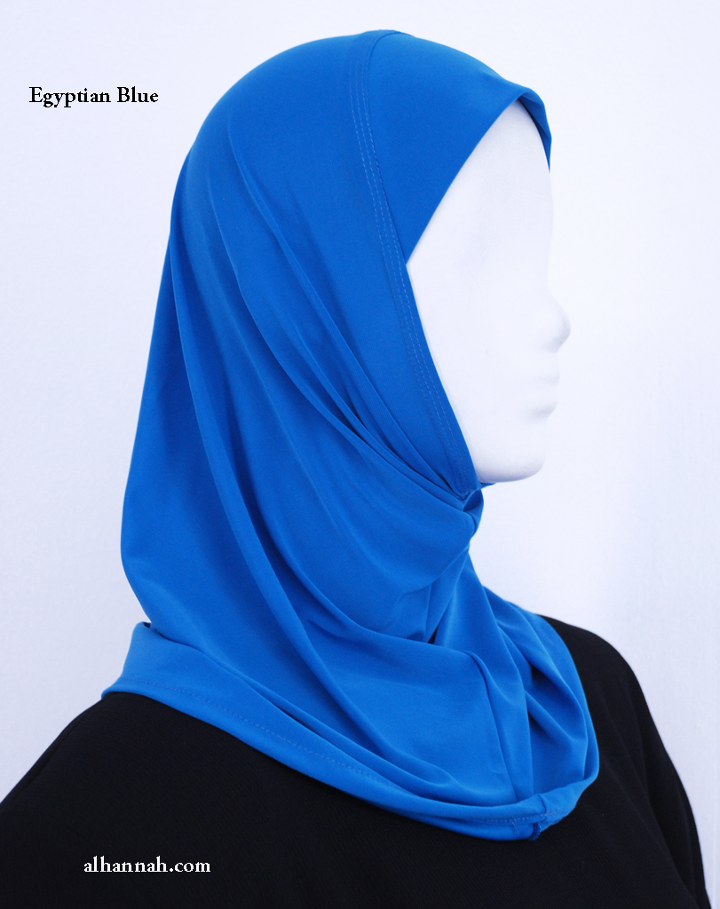 Girls One Piece AlAmirah Hijab i Solid Colours Ch507