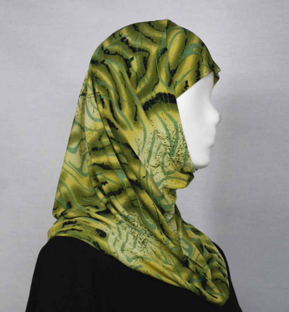 Abstract Wave Al Amirah Hijab hi1641