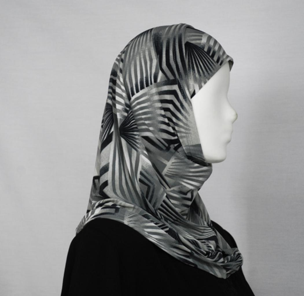 Abstract Al Amirah Hijab hi1643