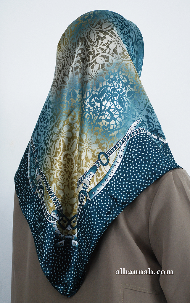Turkish Printed Floral Hijab hi2003