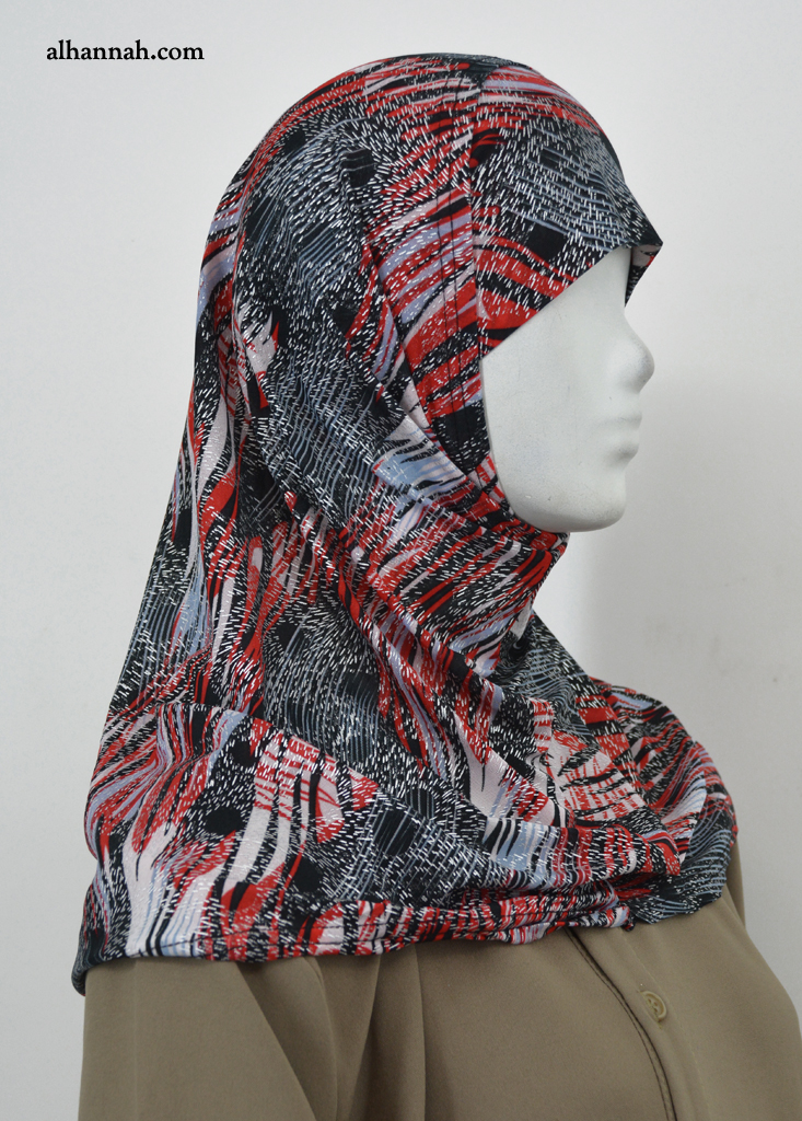 AlAmirah Abstract Print Hijab hi2041