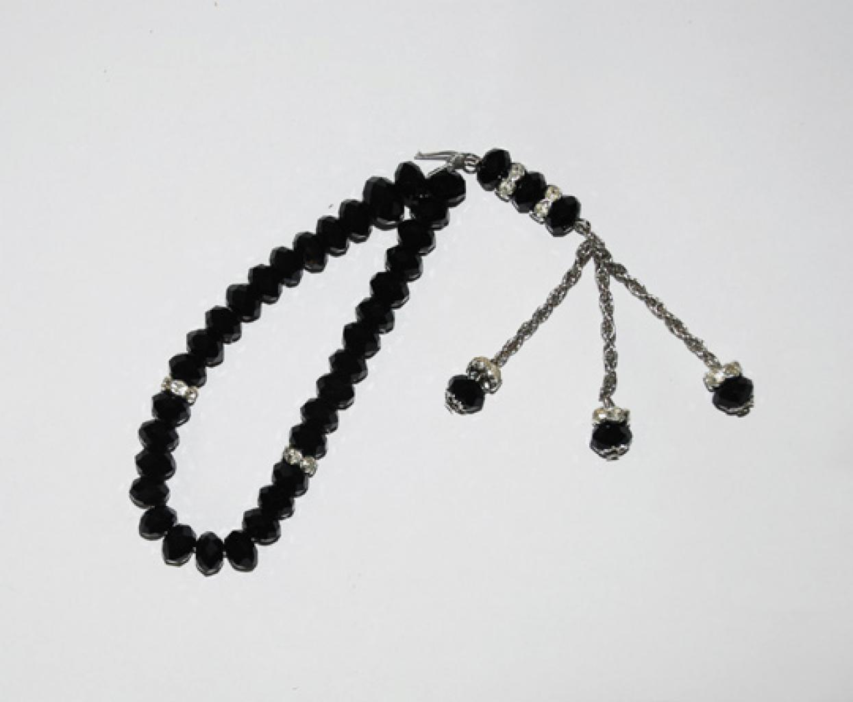Cut Crystal 33 Bead Tasbih Prayer Beads  ii902