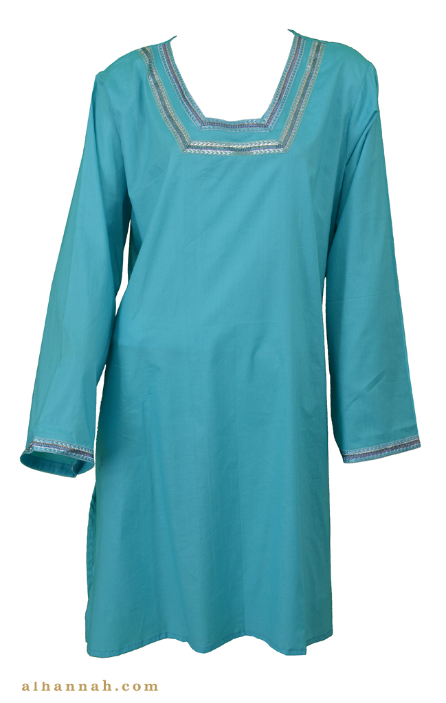 Mariam Cotton Kurta Tunic顶级st593