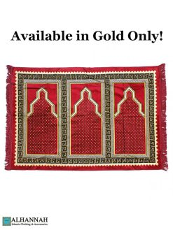 3 Person Prayer Rug