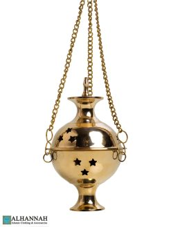 Hanging Brass Incense Burner