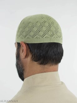 Traditionell Strikkad Bomull Kufi Me674 (4)