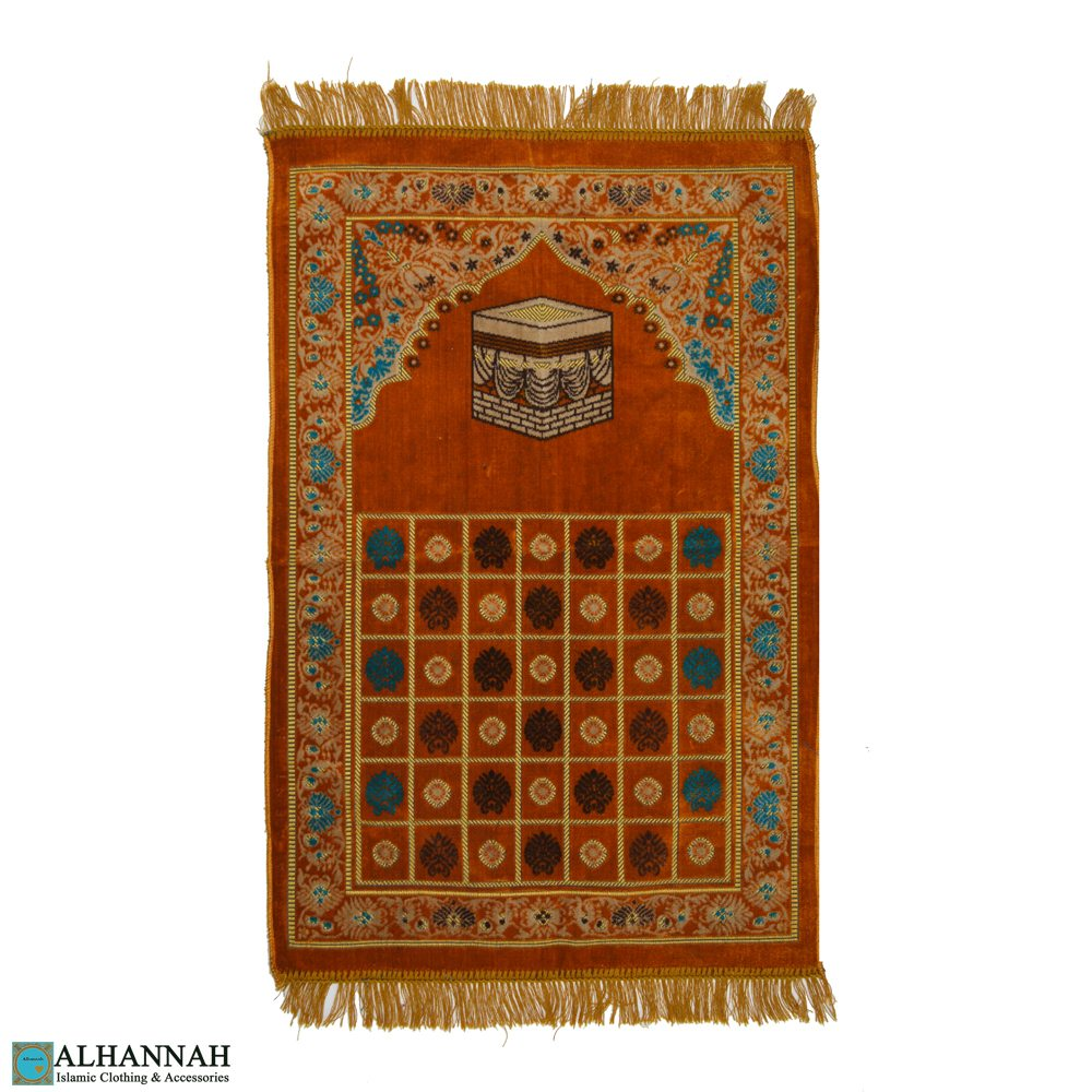 Turkish Prayer Rug | Kaaba Motif  II1110
