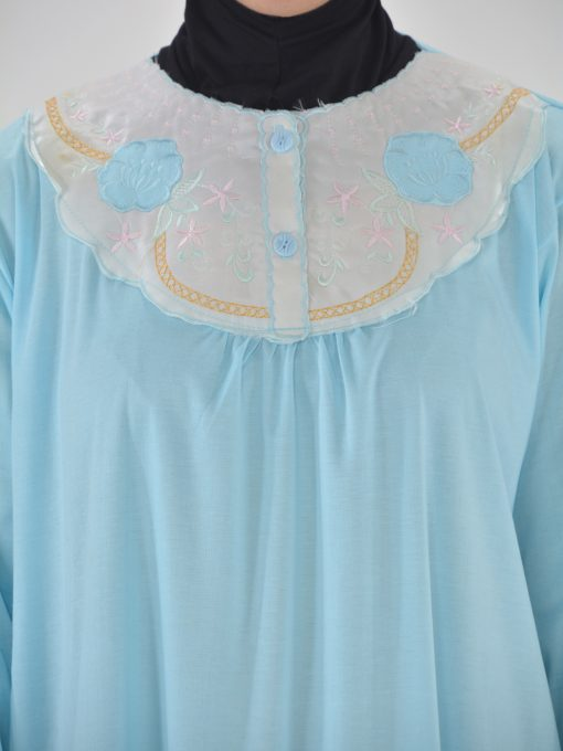 Blomsterbroderet Cotton Nightgown NG100 (4)