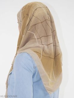 Stripped Infiltry Square Hijab HI2148 (2)