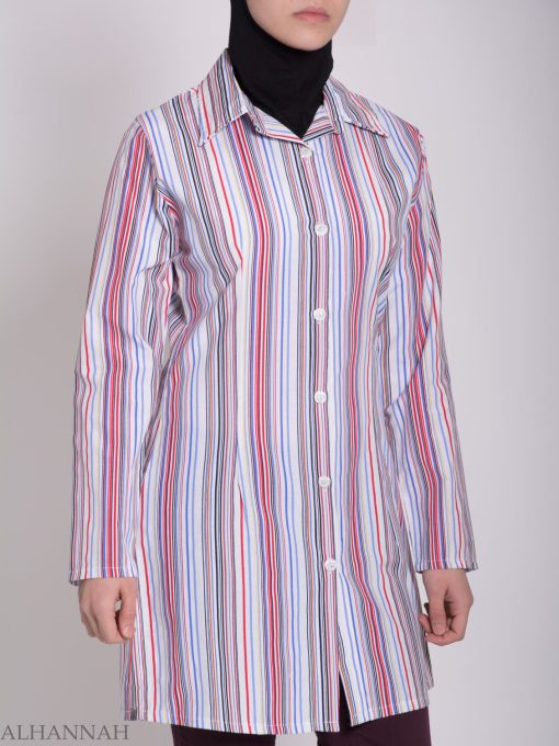 Stripete Button Up Tunika St603 (6)
