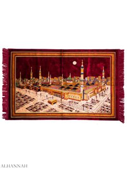 Аль-Масджид-An-Nabawi-Motif-Large-Prayer-Ковер-ii1158