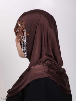 Beaded Sprouting-Flower One-Piece Al-Amira Hijab Hi2160 (1)