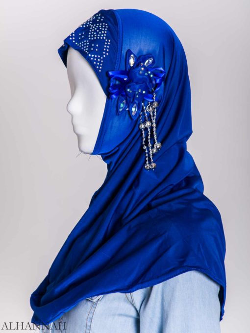 Beaded Sprouting-Flower One-Piece Al-Amira Hijab hi2160 (4)