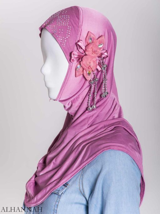 Beaded Sprouting-Flower One-Piece Al-Amira Hijab hi2160 (8)