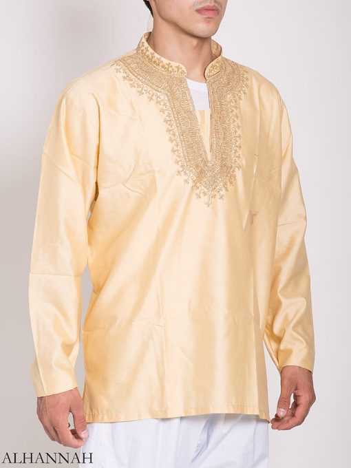 Pakistani bordado Kurta me779 (1)