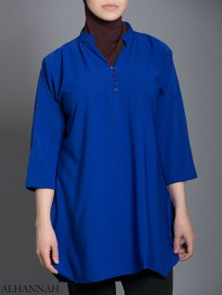 Einfarbig Button-Up Kurti st605 (5)