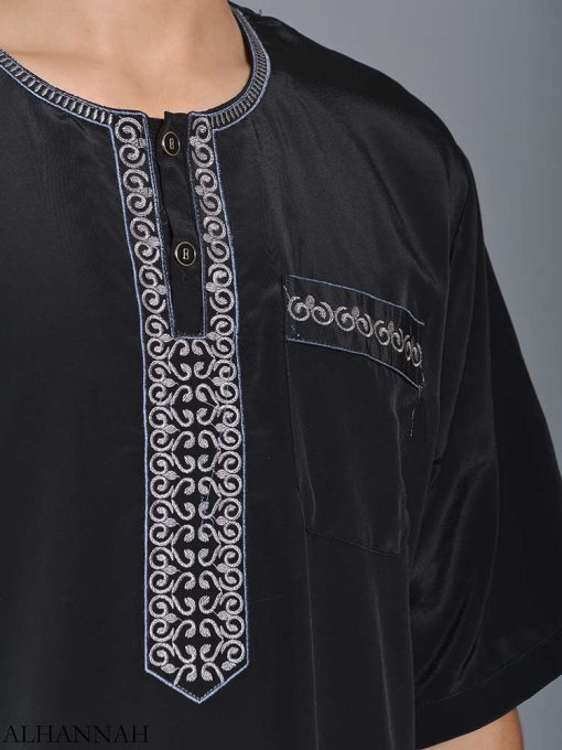 Moroccan Embroidered Thobe me784 (3)