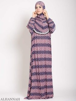 Blanket Pattern One Piece Prayer Outfit