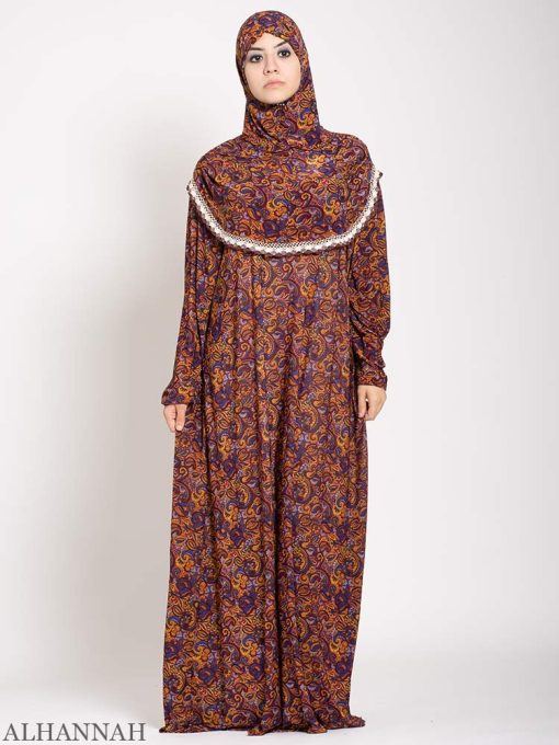 Copper Paisley Prayer Outfit