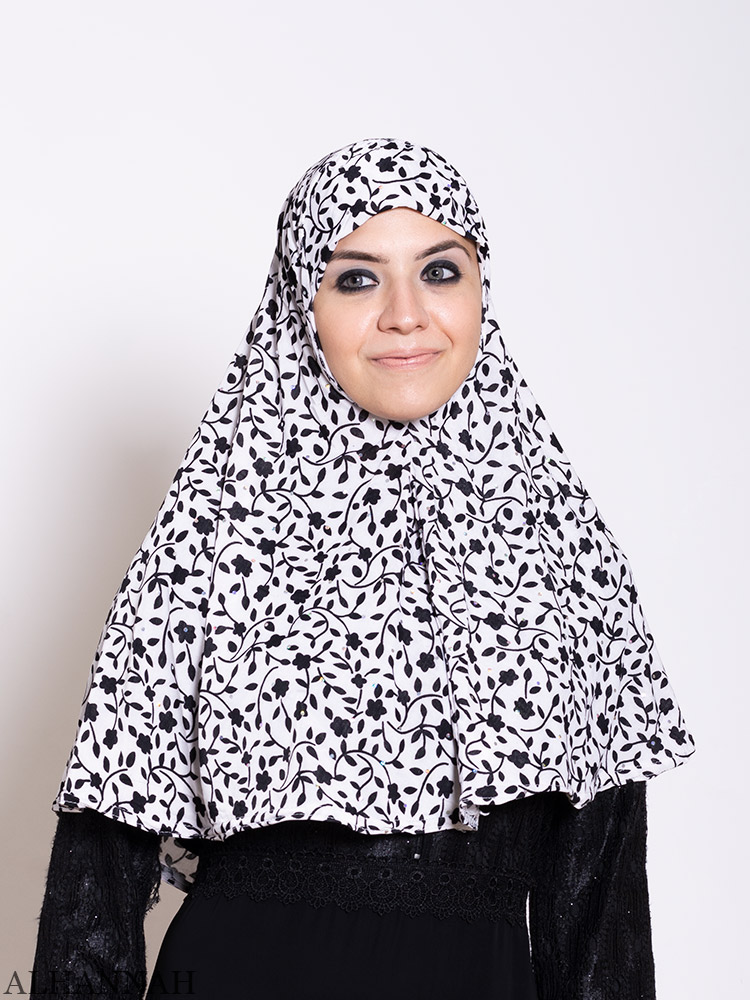 Blossoming Vines Amira Hijab | HI2203