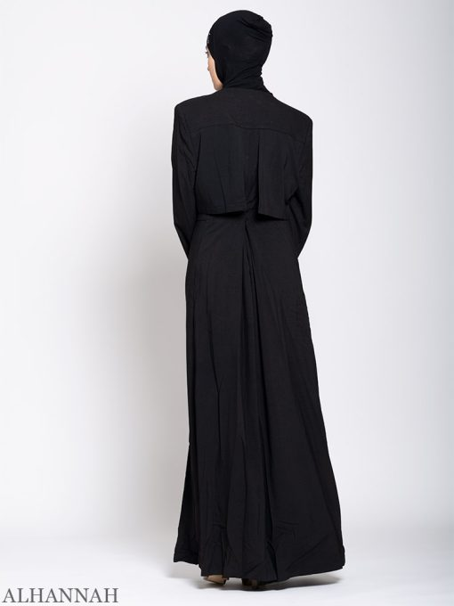 Turkish Style Abaya Back