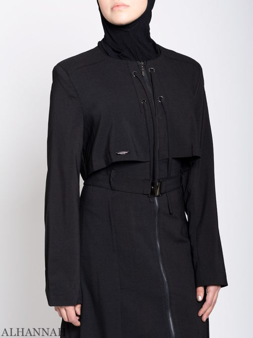 Tyrkisk stil Abaya Close Up