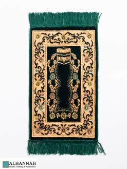 Kids Prayer Rug Emerald Green