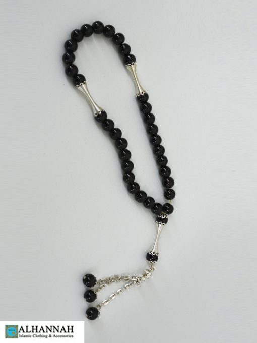 Onyx Black Tasbih Islam Prayer Beads