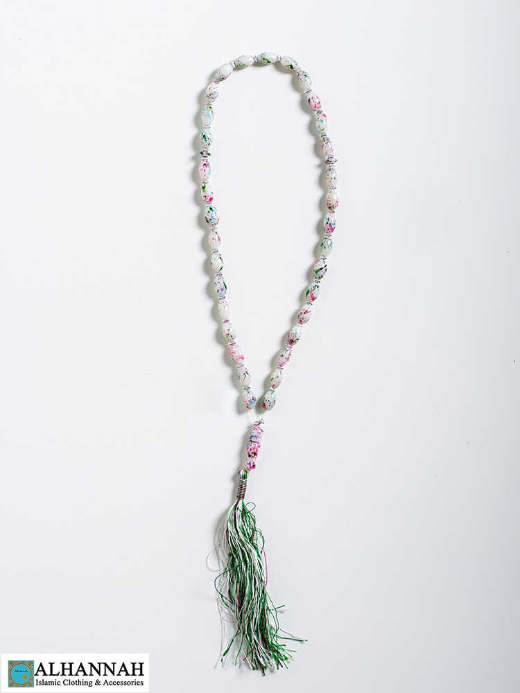 Tisbah Islam Prayer Beads Pastel