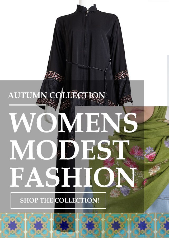Womens Islamic Clothing Autumn 2020